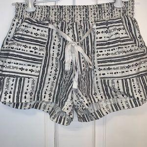 Tribal Fabric Shorts